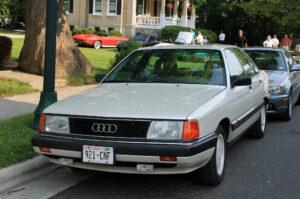 Klasszikus Audi - a szivar - Audi 100 C3