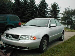 Második generációs Audi A4 (2000)