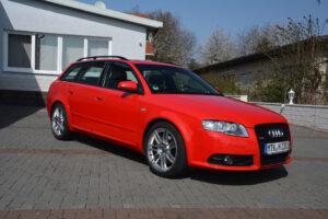 Negyedik generációs Audi A4 (2007)