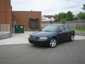 Az 1994-ben bemutatott klasszikus Audi A4 forma