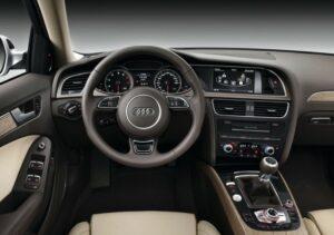 2015-ös Audi A4 belső tér