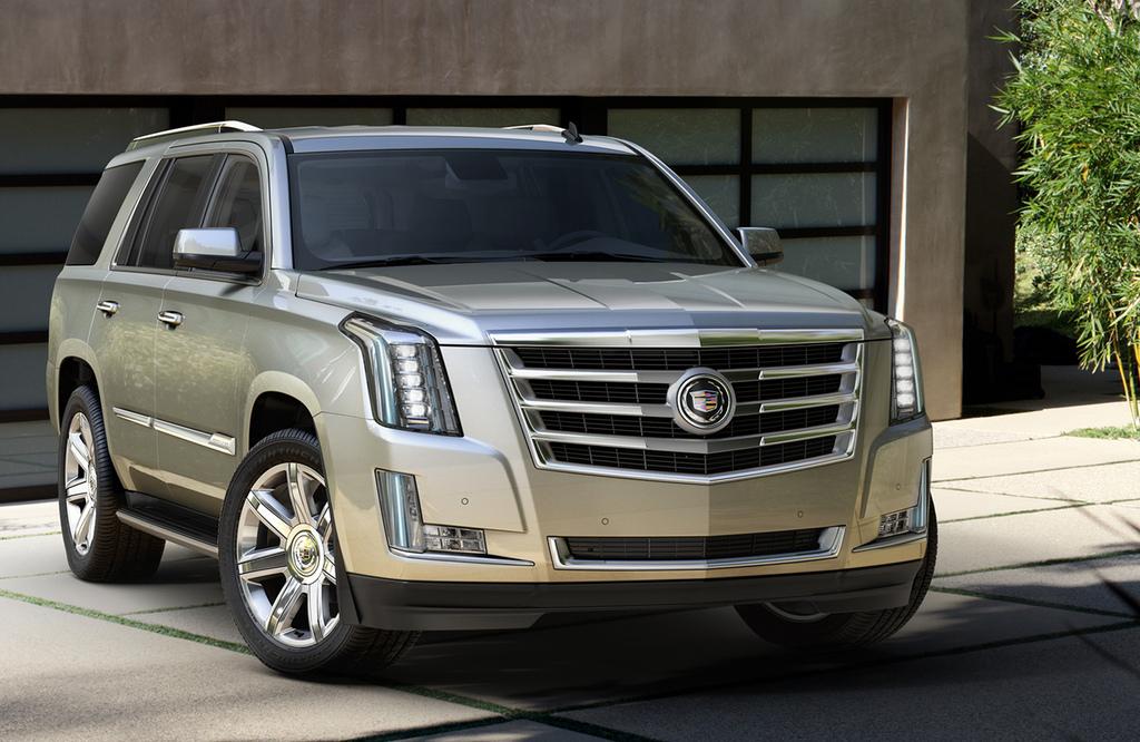 Cadillac Escalade 2015 – izomautó újratervezve