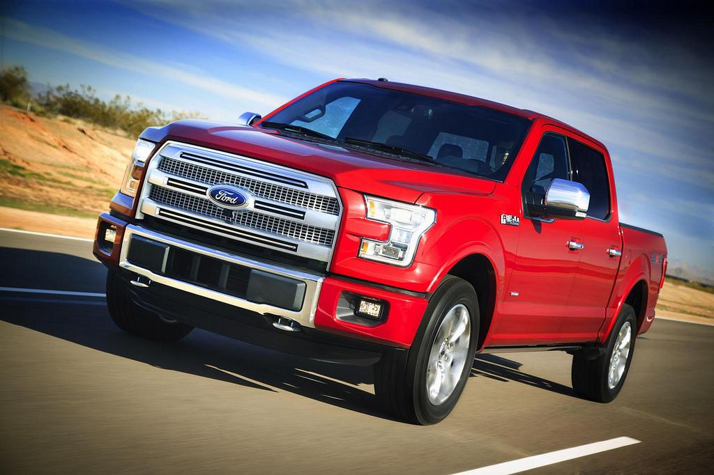 Ford F-150 2015 – a pickup-ok izomautója