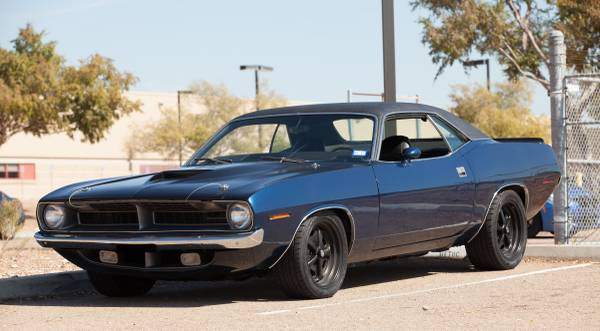 1970-es Plymouth Cuda BS